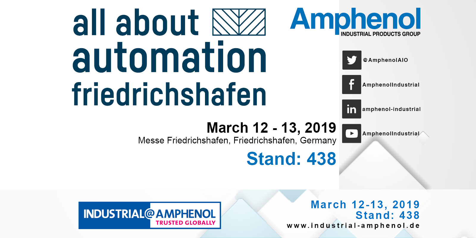 All About Automation Friedrichshafen 2019 Social Media